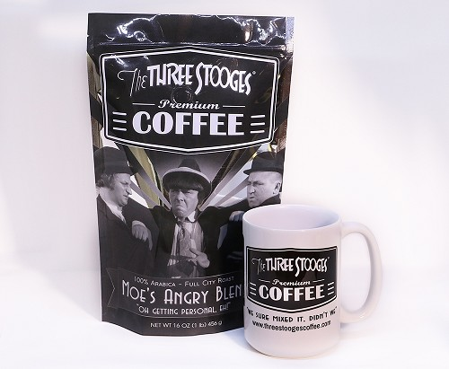 Moe's Angry Blend with Mug by The Three Stooges® Coffee